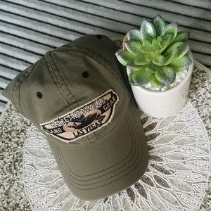 Dark Green Margaritaville Las Vegas Hat OS